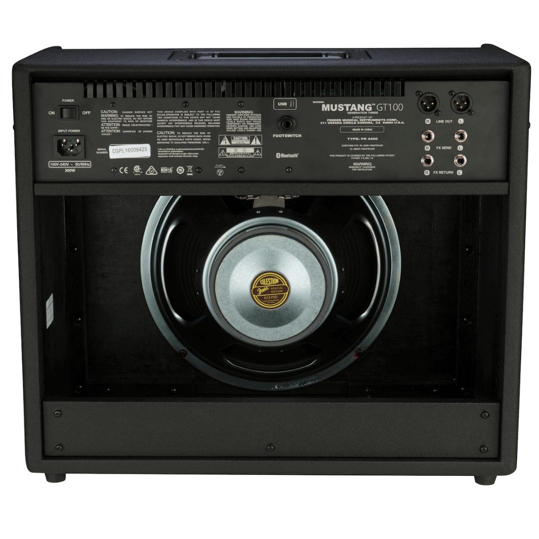 Amplificador Combo Fender 100 Watts 231 0200 000 - Mustang GT 100