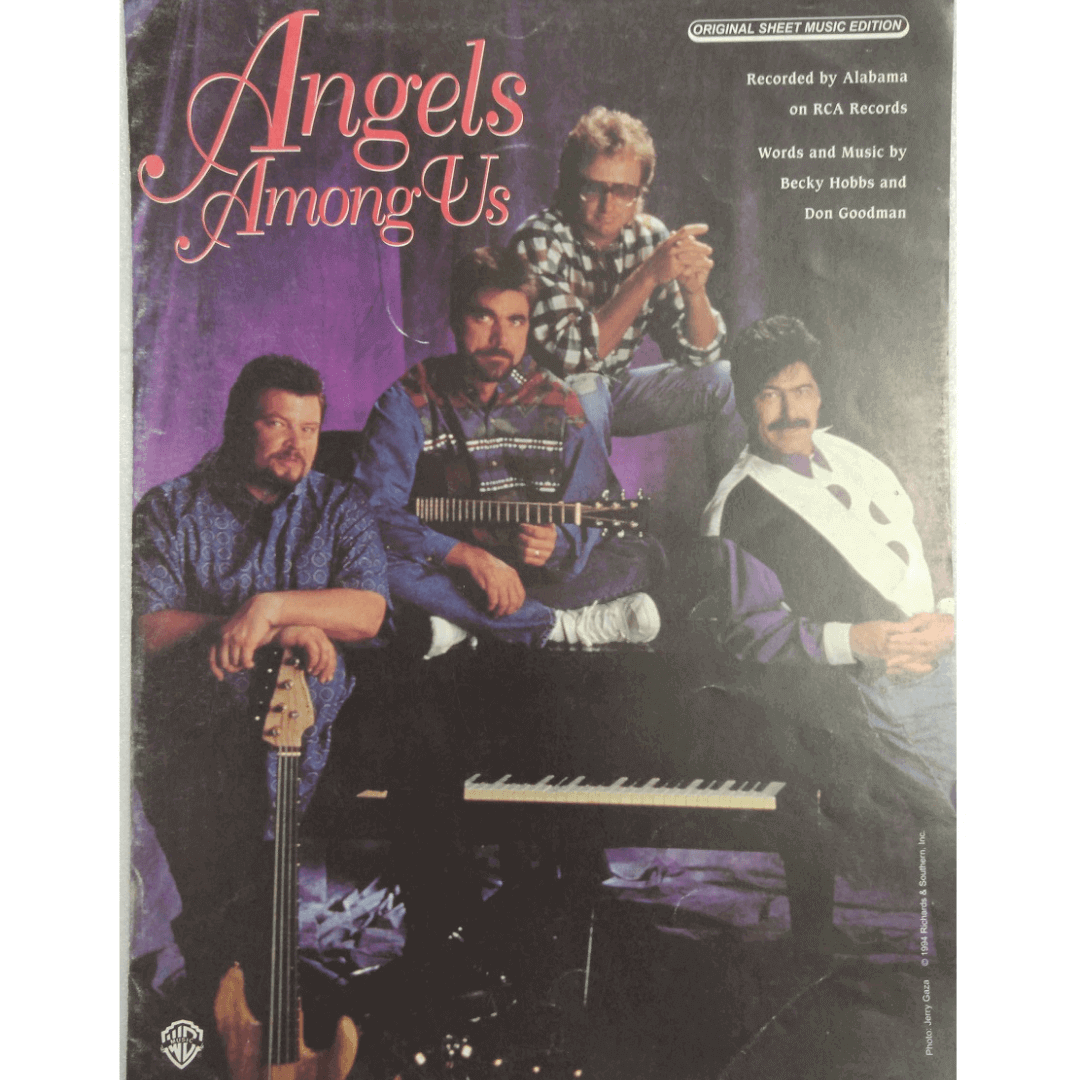 Angels Among Us - Recorded by Alabama on RCA Records VS6486