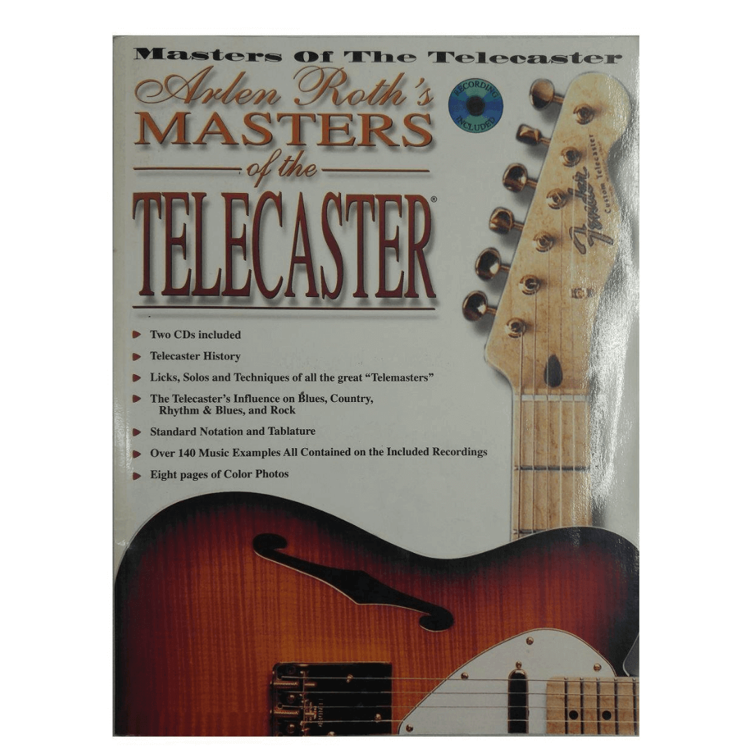 Arlen Roth's Masters of the Telecaster (Book & 2 CDs)
