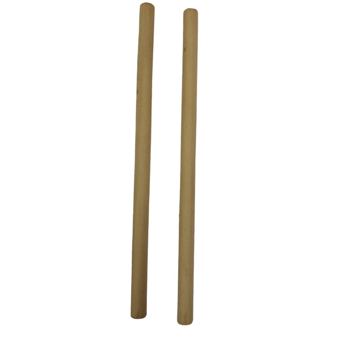 Baqueta pequena 20CM para percussão ( Par )