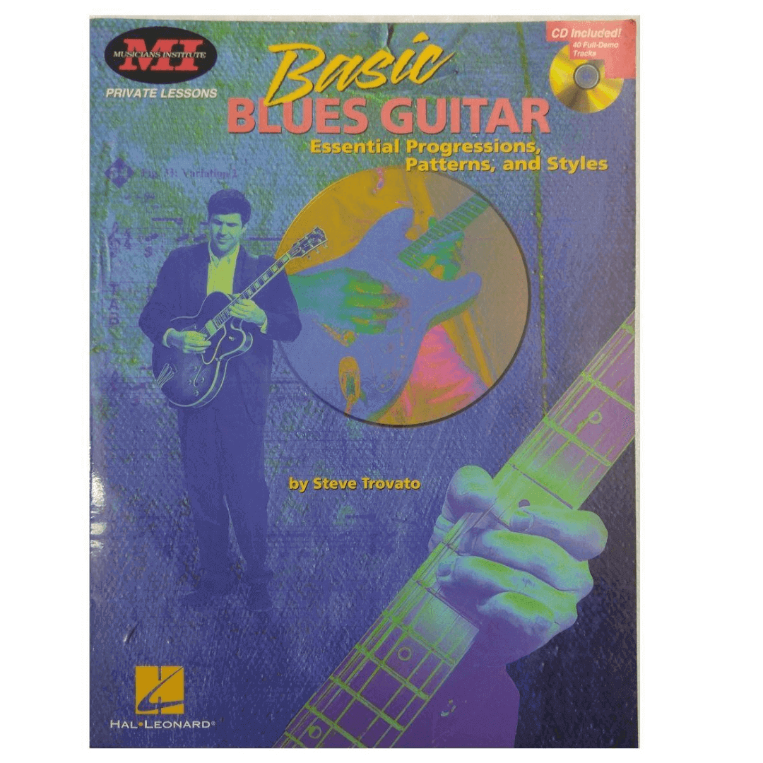 Basic Blues Guitar: Essential Progressions, Patterns and Styles - Private Lessons - c/ CD