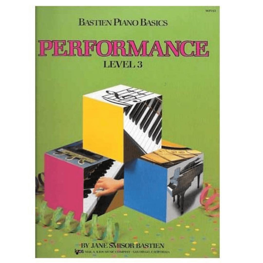 Bastien Piano Basics - Performance Level 3 - Jane Smisor Bastien - WP213