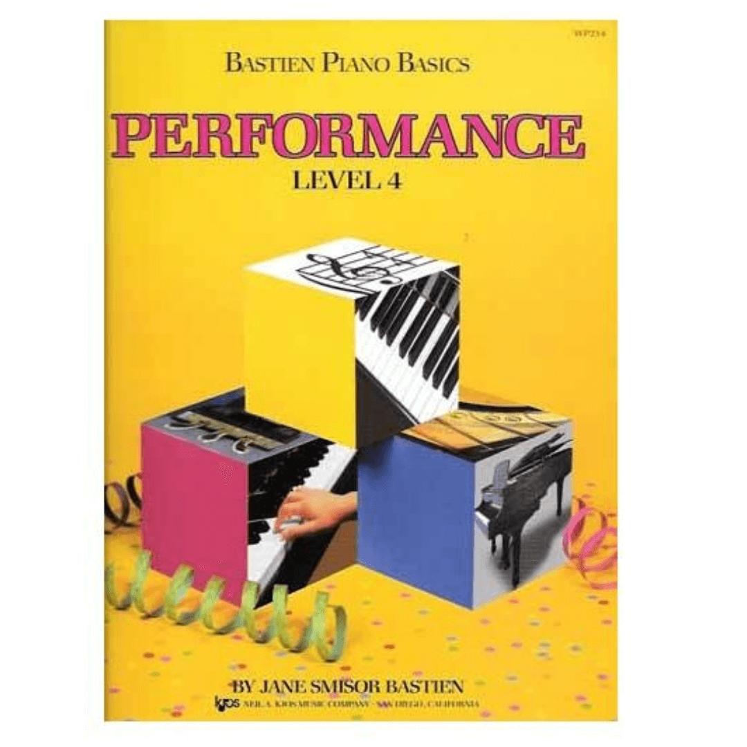 Bastien Piano Basics - Performance Level 4 - Jane Smisor Bastien - WP214