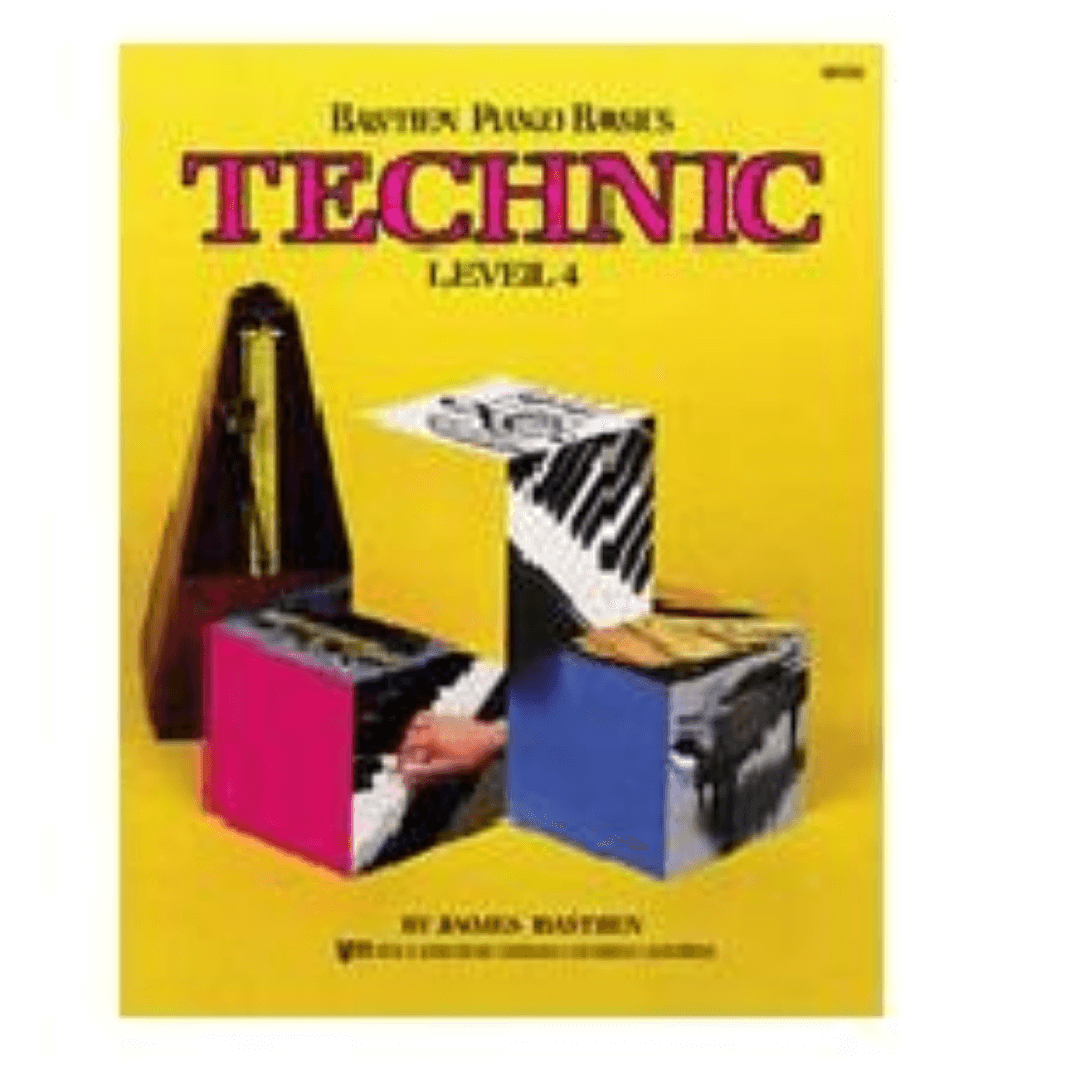 Bastien Piano Basics - Technic - Level 4 - James Bastien - WP219