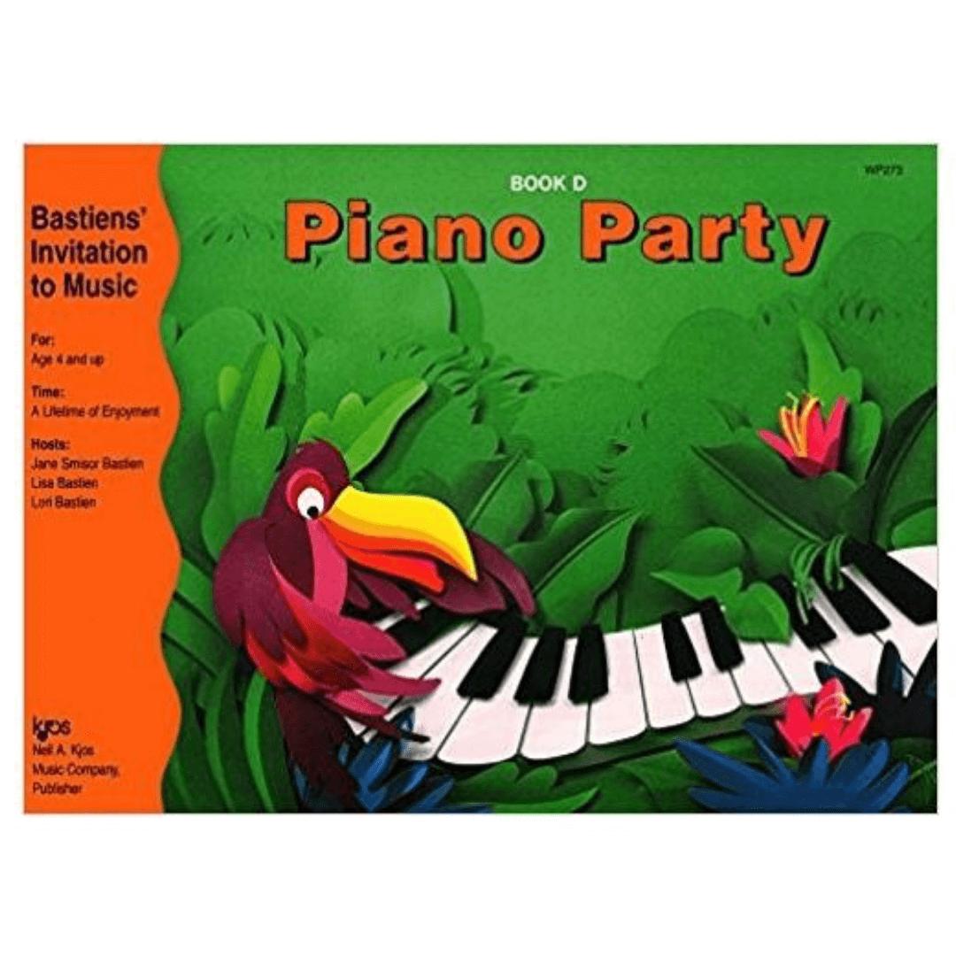 Bastiens Invitation to Music Piano Party Book D - WP273