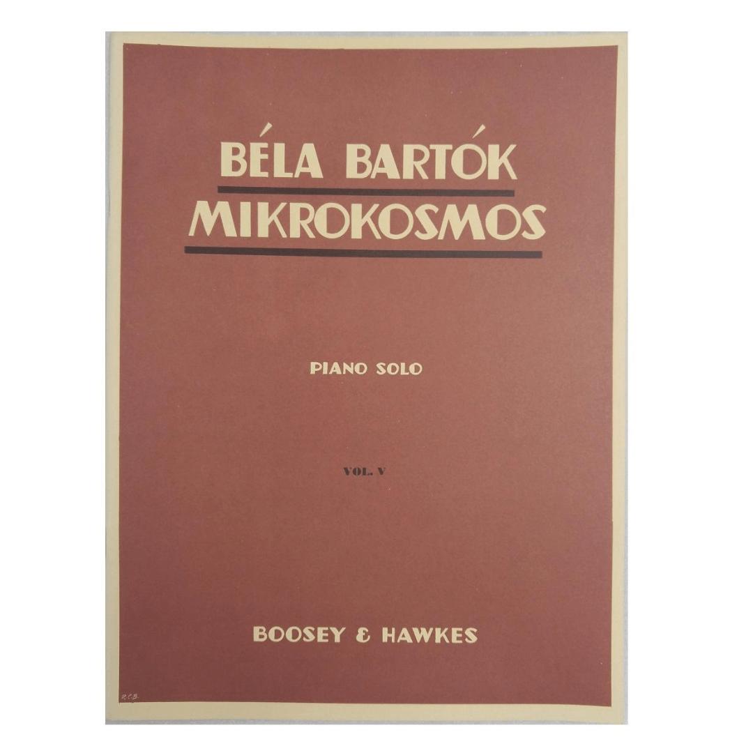Béla Bartók Mikrokosmos Piano Solo Volume 5 - Boosey e Hawkes