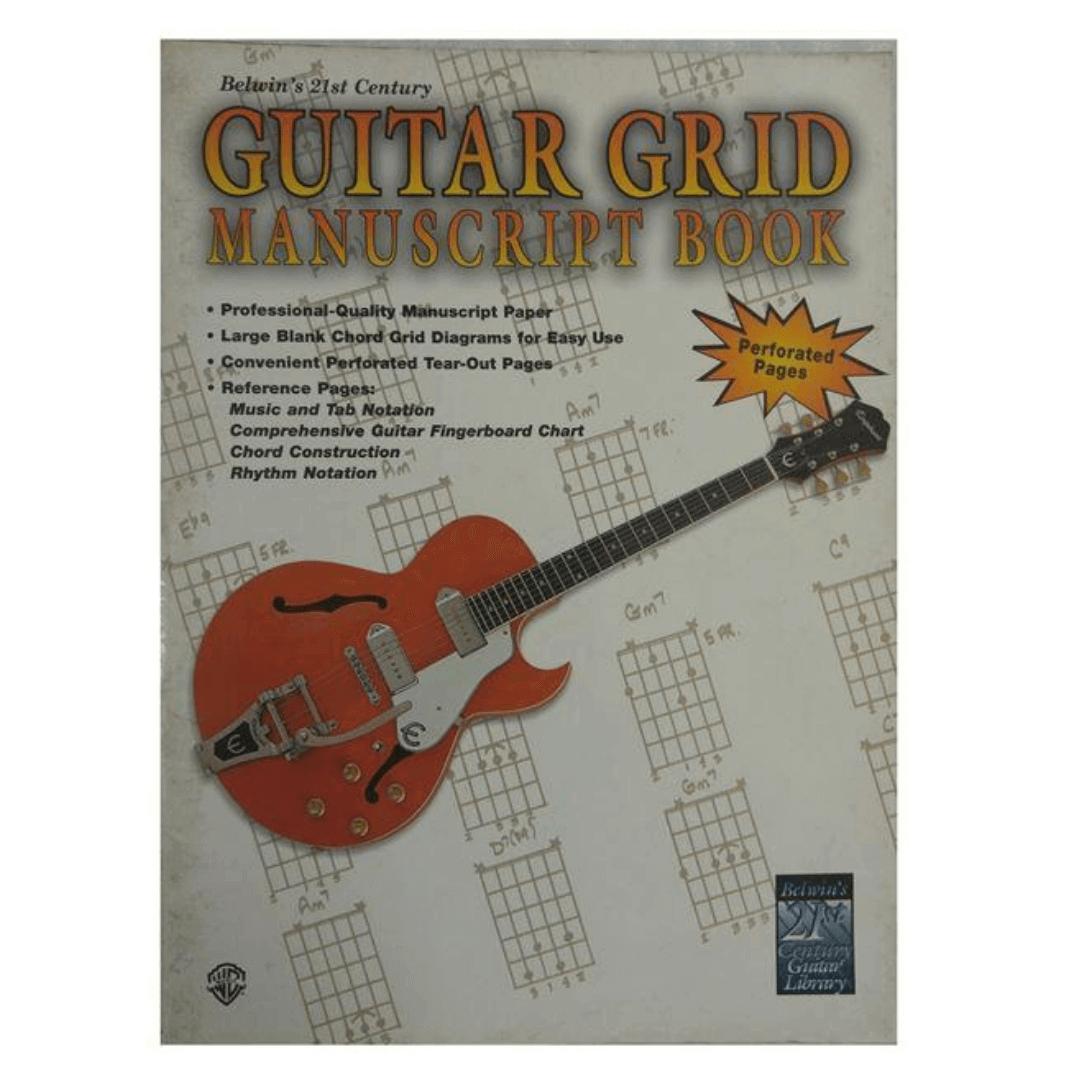 Belwin's 21st Century Guitar Grid Manuscript Book - EL9929