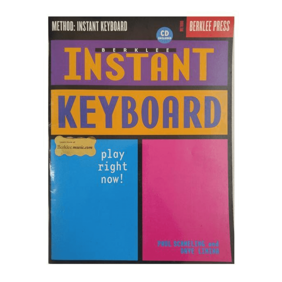 Berklee Instant Keyboard ( Teclado instantâneo Berklee ) com CD
