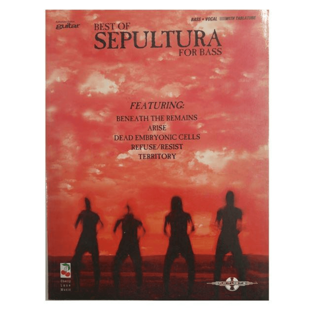 Best of Sepultura for Bass - Bass / Vocal - With Tablature