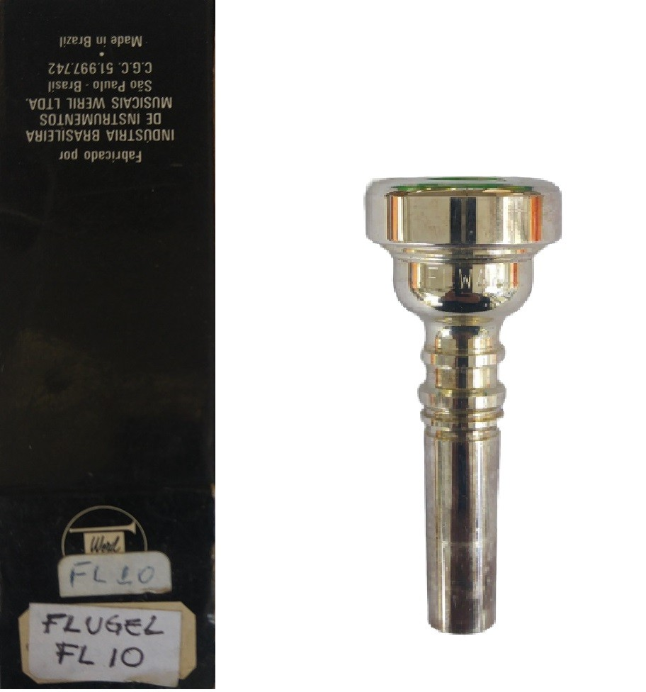 Bocal Flugel / Flugelhorn Weril - Modelos: FLW44, FL10 ou 5