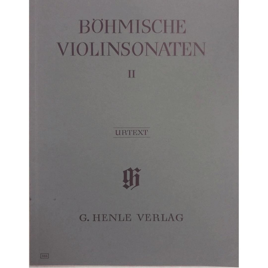 Bohmische Violinsonaten II - Urtext - G. Henle Verlag - 335