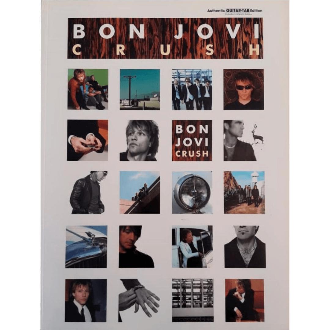 Bon Jovi Crush - Authentic Guitar - Tab Edition - PGM0019
