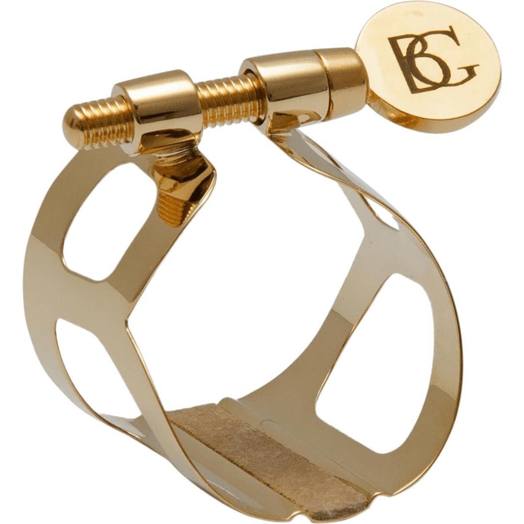 Braçadeira para Clarinete sib (bb) BG L3 - Ligatures TRADITION Gold Plated