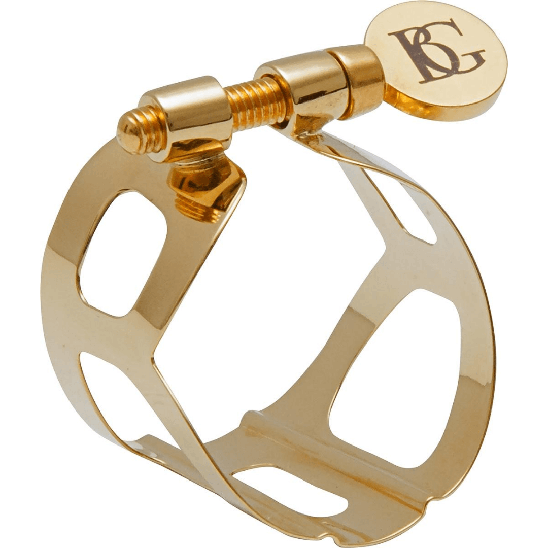 Braçadeira para Sax Tenor BG L40 Ligatures TRADITION Gold Lacquered
