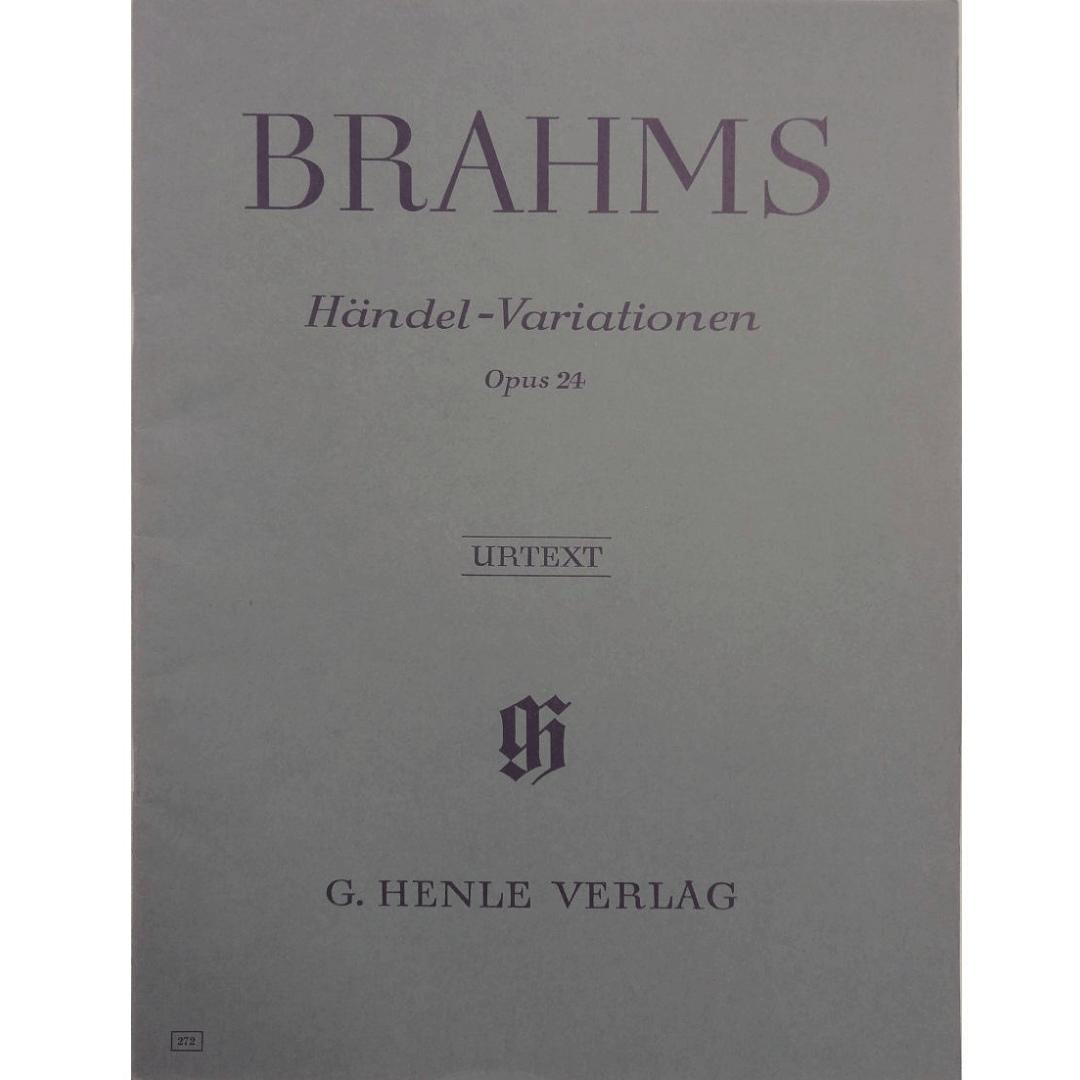 Brahms Variationen Opus 21, Nr.1 und 2 - Urtext - G. Henle Verlag - 439