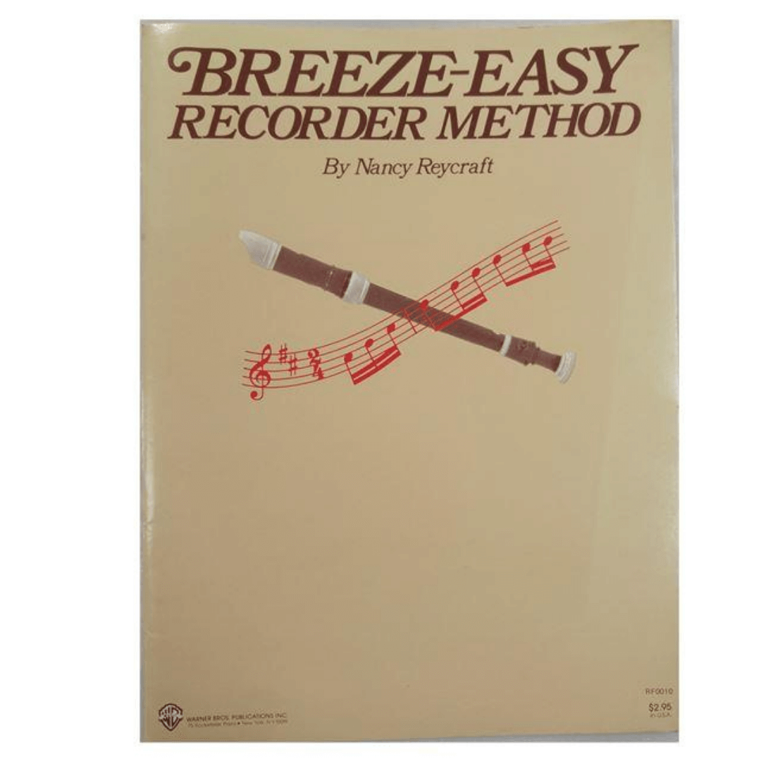 Breeze-Easy Recorder Method para Flauta - by Nancy Reycraft - RF0010