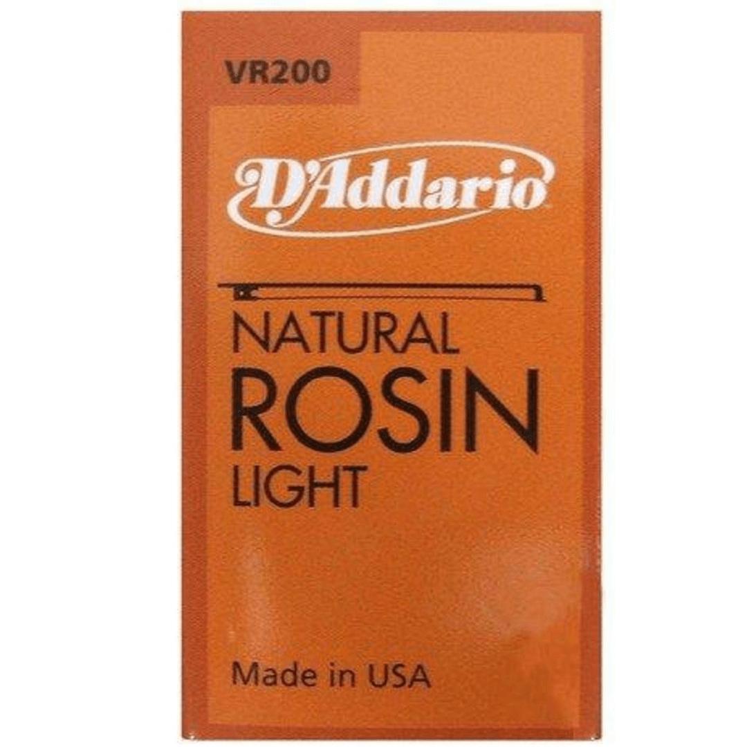 Breu Natural Rosin Light VR200 DAddario