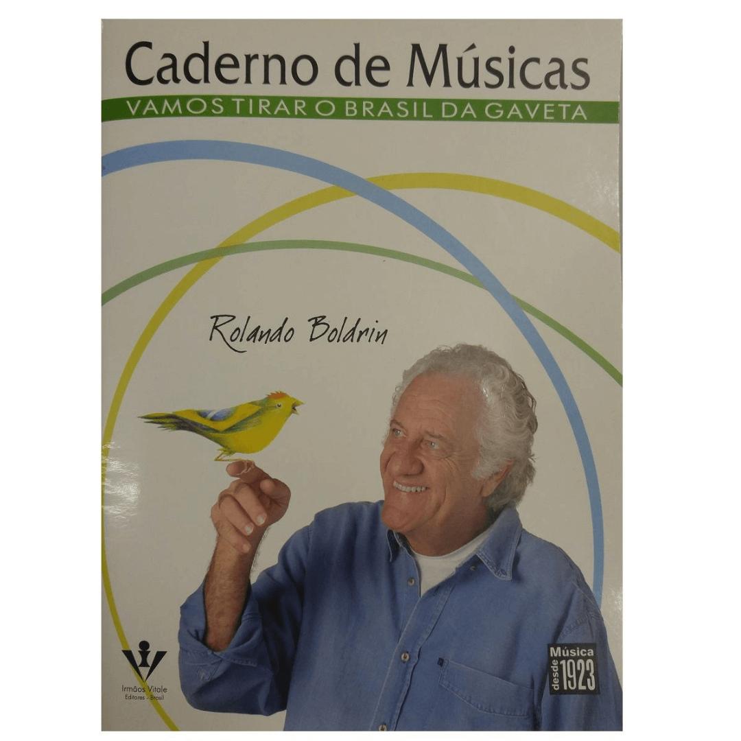 Caderno de Músicas - Vamos Tirar o Brasil da Gaveta - Rolando Boldrin 316A
