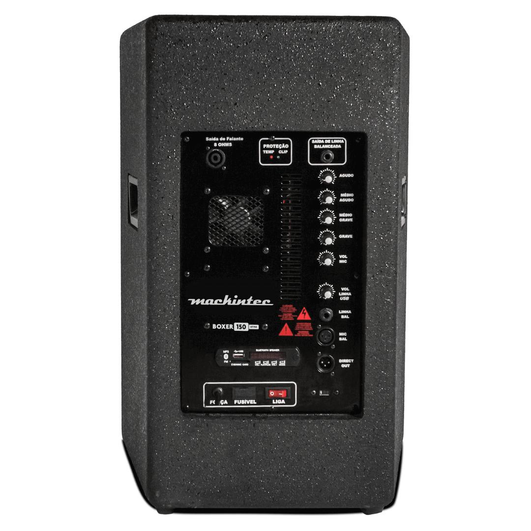 Caixa Acústica Mackintec Boxer 150 Cyber Ativa 150W