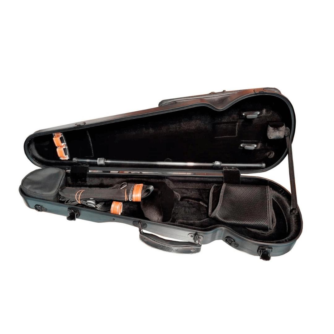 Case de Fibra Para Violino Mavis VLS94FC - Cinza