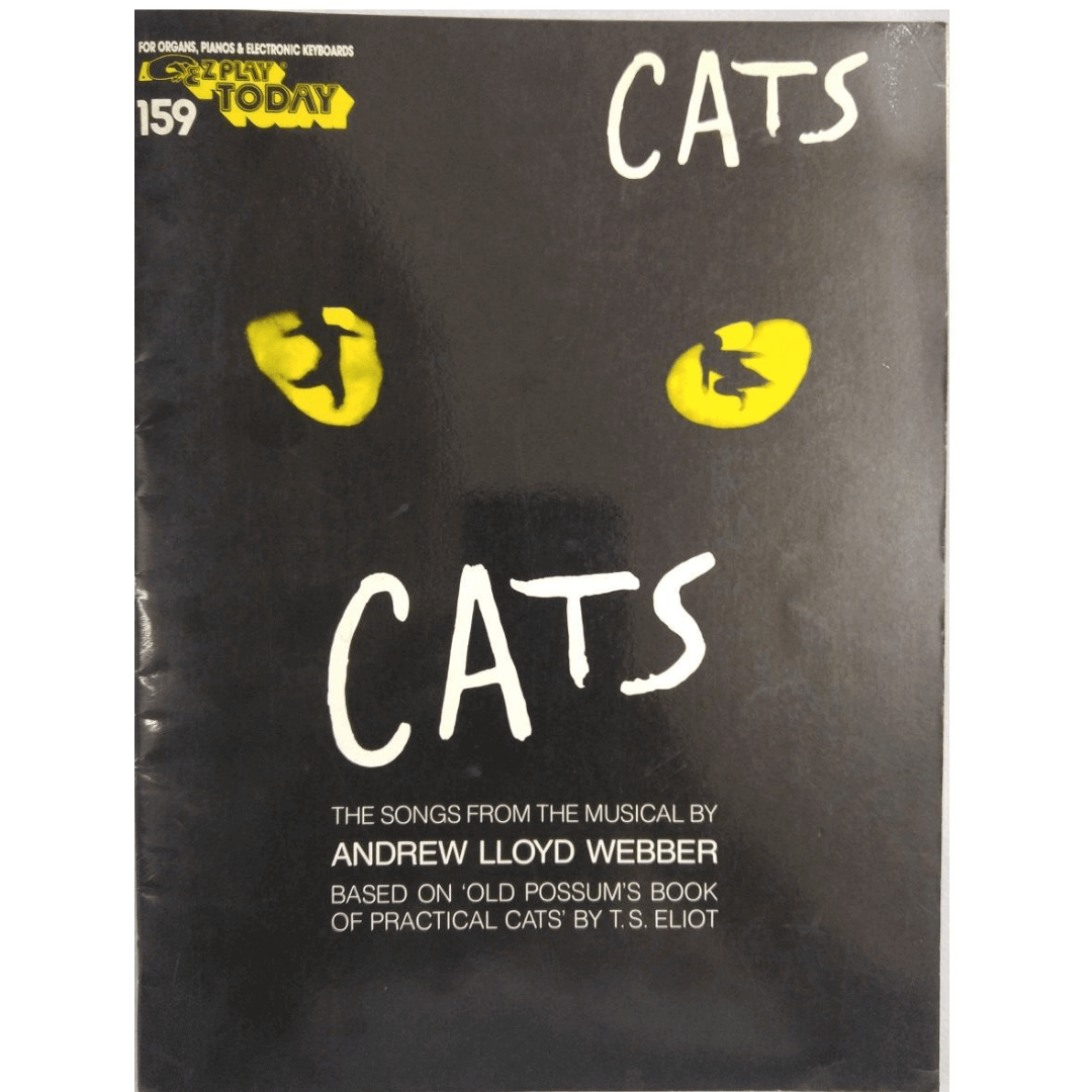 Cats The Songs From The Musical By Andrew Lloyd Webber for Organs, Pianos HL00101551