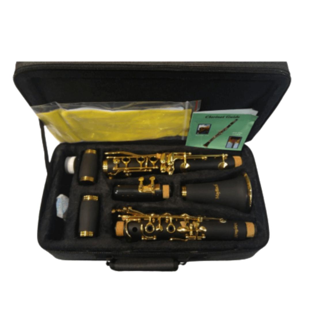 Clarinete Maybach 1104G - 17 Chaves laqueadas (Dourado)