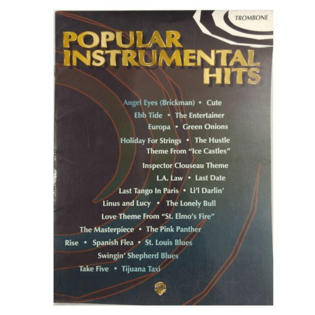 Clarinete - Popular Instrumental Hits ( Acessos Instrumental Populares ) - IF9708