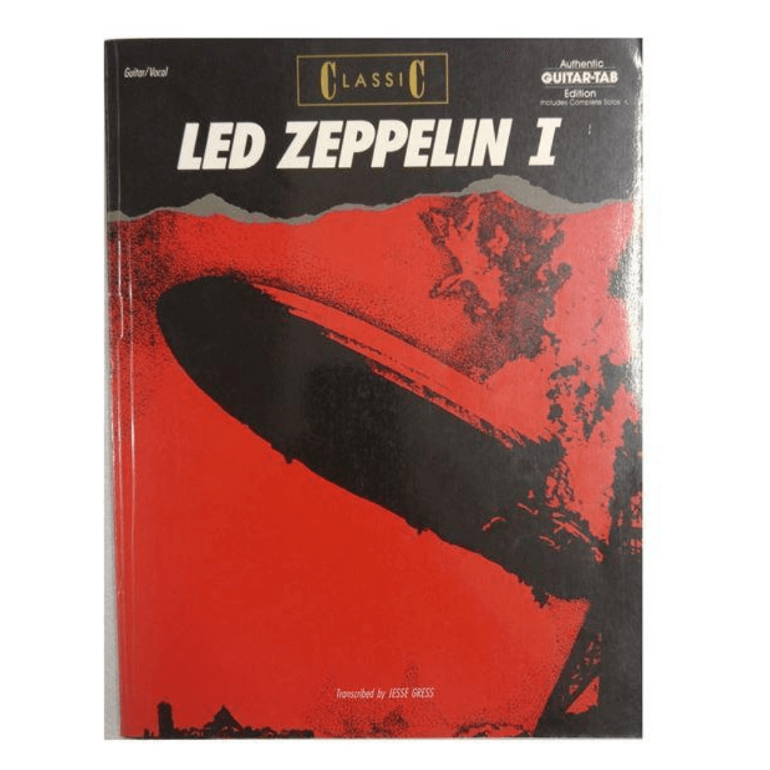 Classic Led Zeppelin I Transcribed by Jesse Gress - GF0417