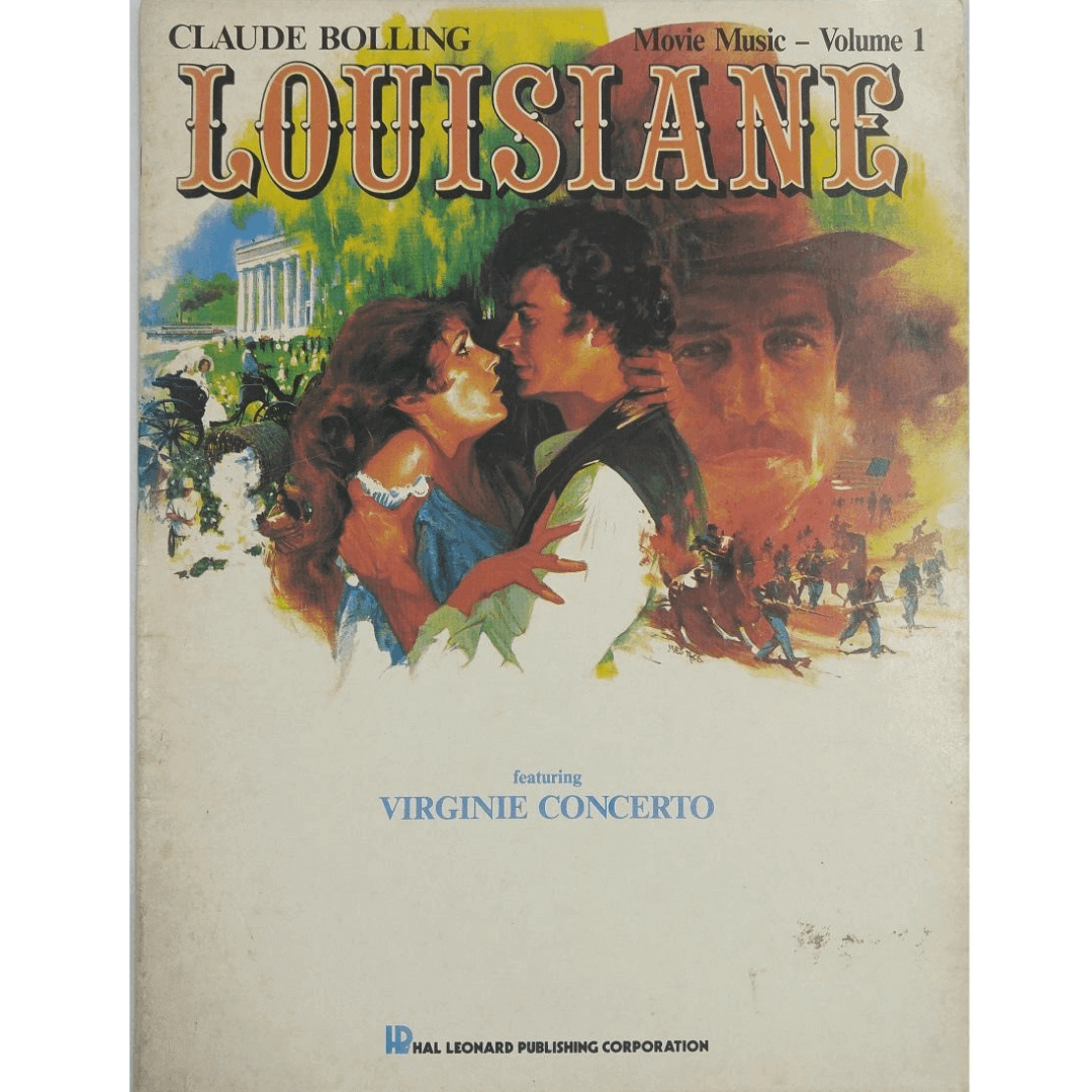Claude Bolling - Louisiane - Movie Music - Volume 1 featuring Virginie Concerto HL00357358