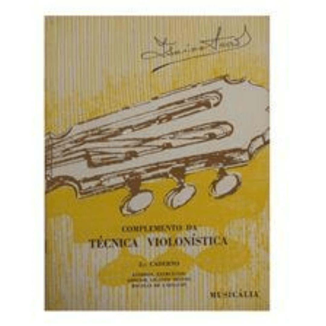 Complemento Da Técnica Violonística 2º Caderno - Isaías Sávio MCM0159