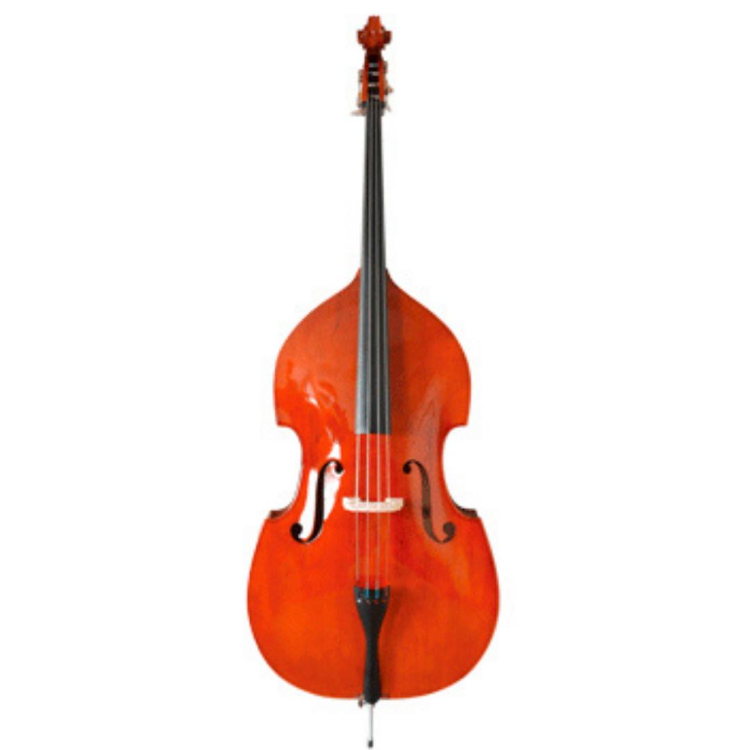 Contrabaixo Acústico de Orquestra 1/2, 3/4 e 4/4 Mavis MB6072