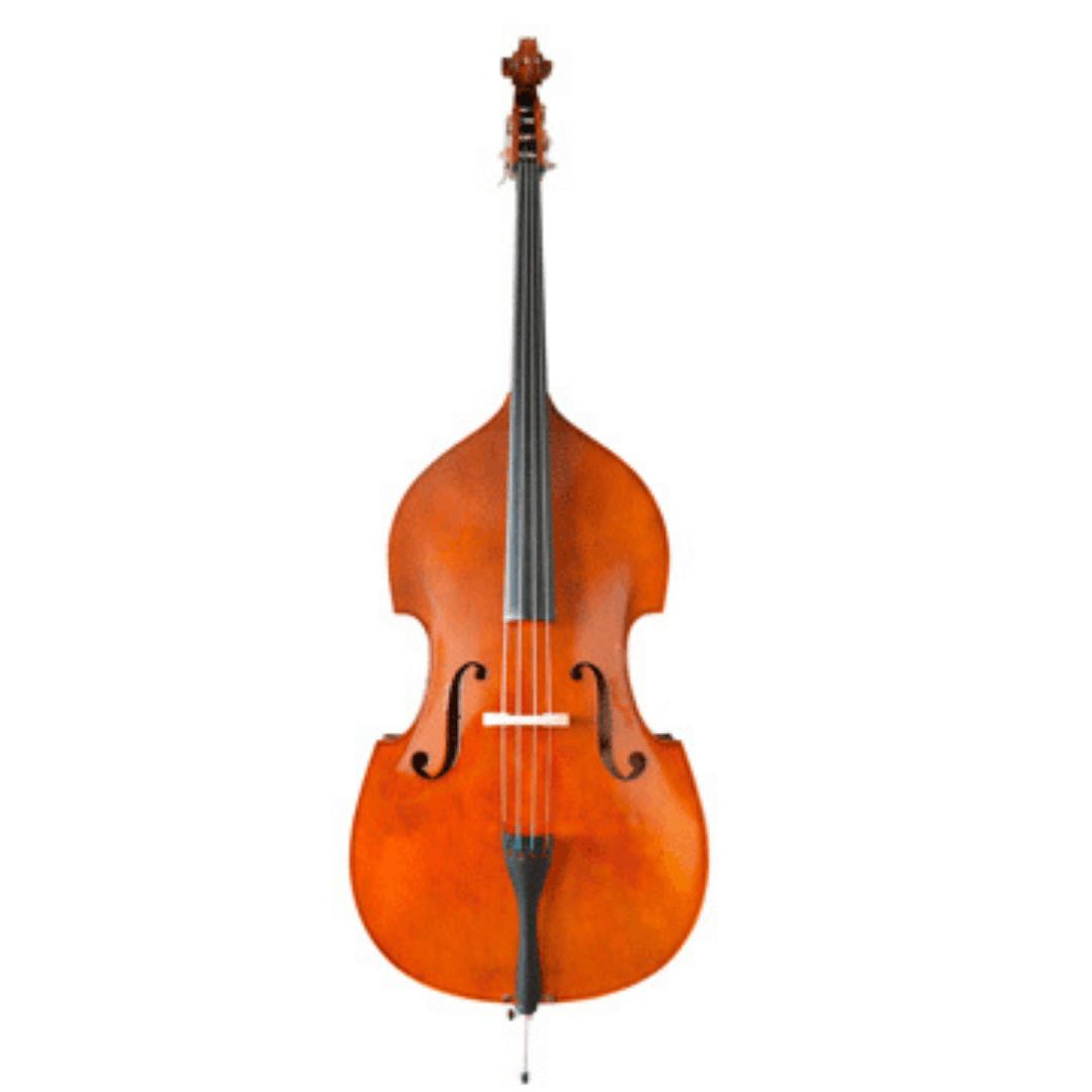 Contrabaixo Acústico de Orquestra 1/2, 3/4 ou 4/4 Mavis MB6071