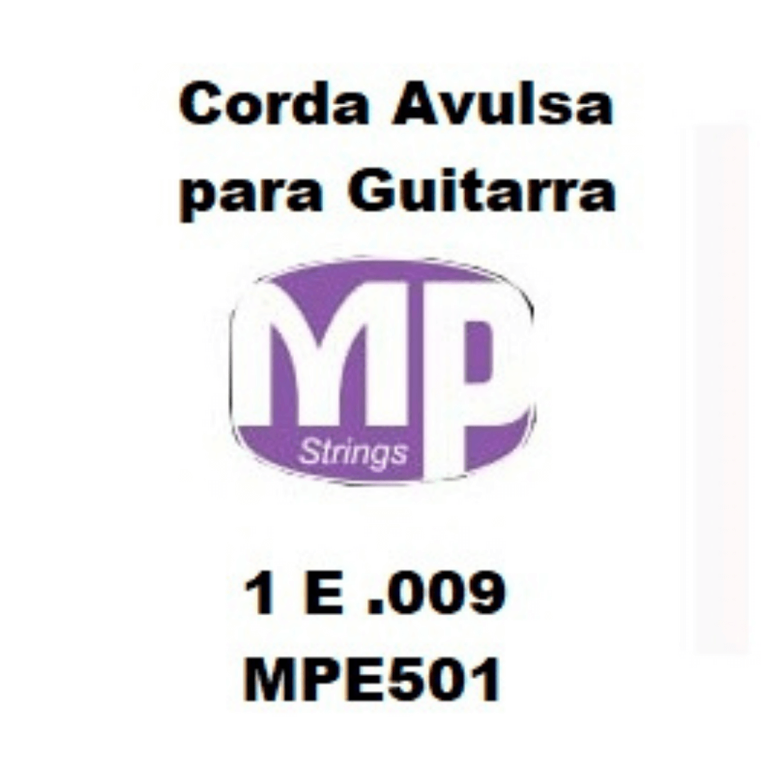 Corda Avulsa MP para Guitarra 1 E .009 - Paganini MPE501