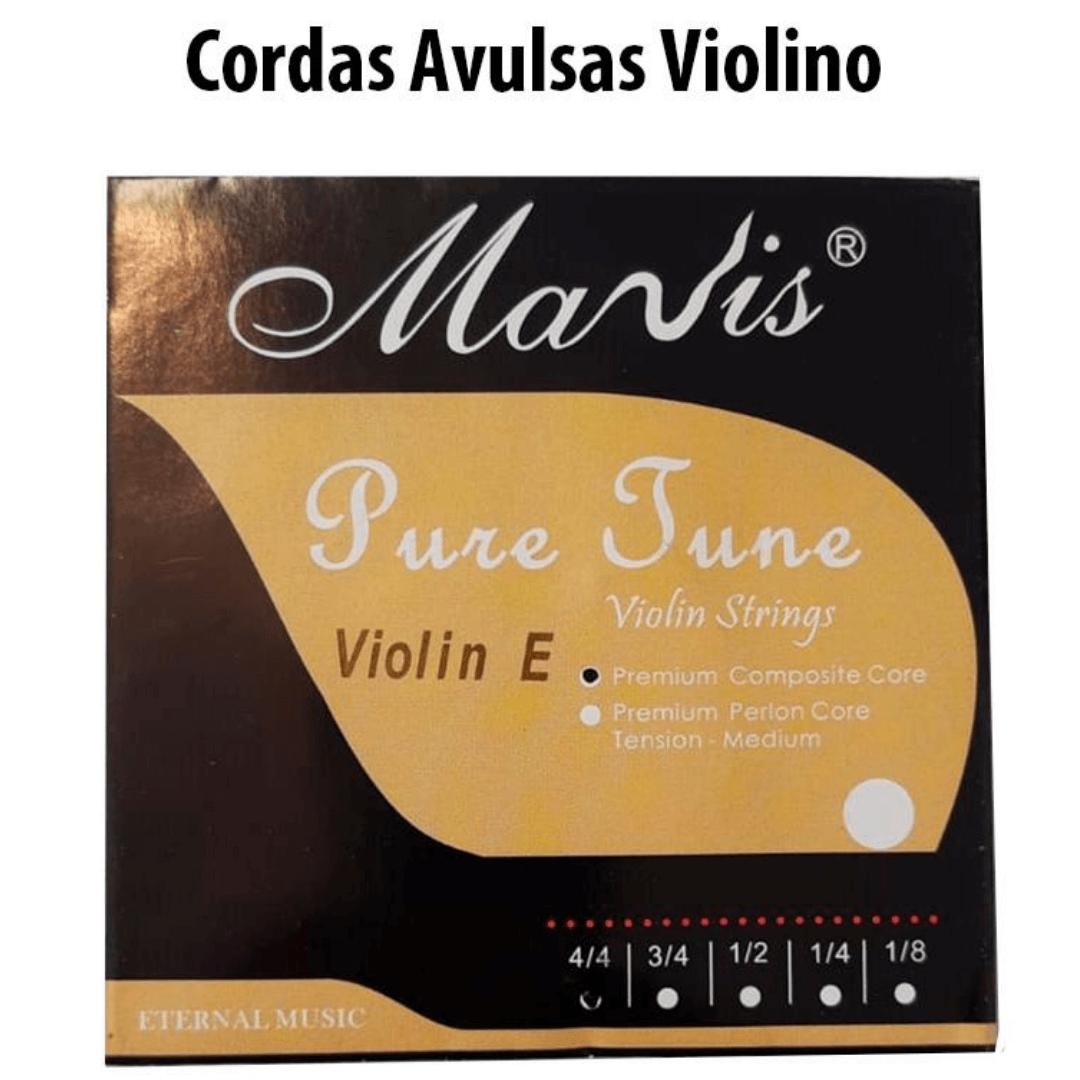Cordas Avulsas Mavis Para Violino 4/4