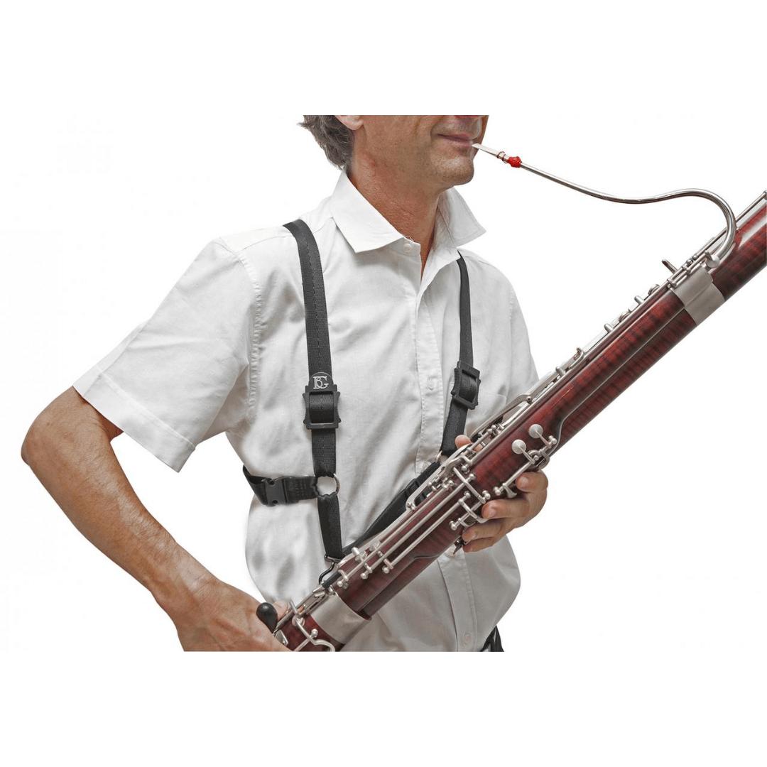 Correia BG B10 para Fagote - (basson) - Straps HARNESS Men