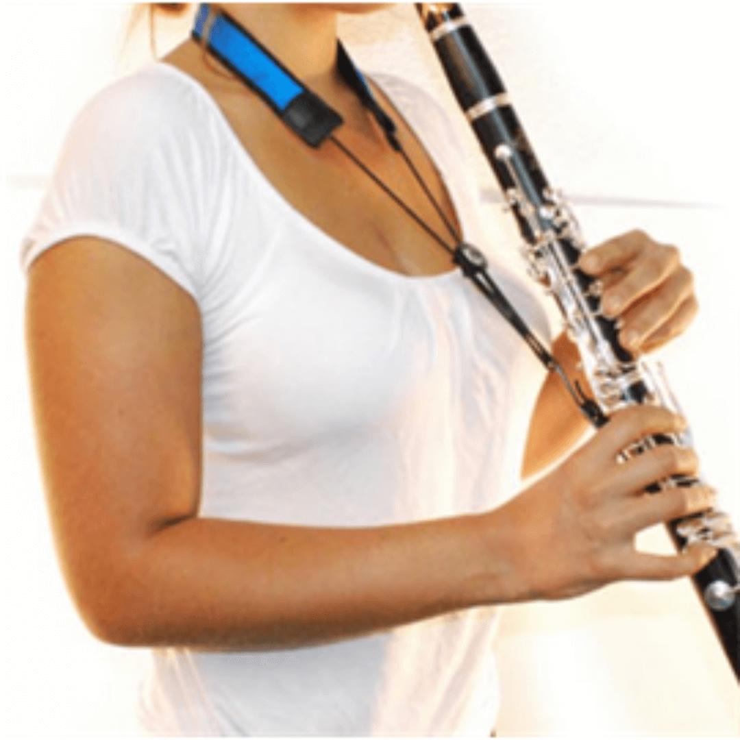Correia para Clarinete BG C96LP Azul