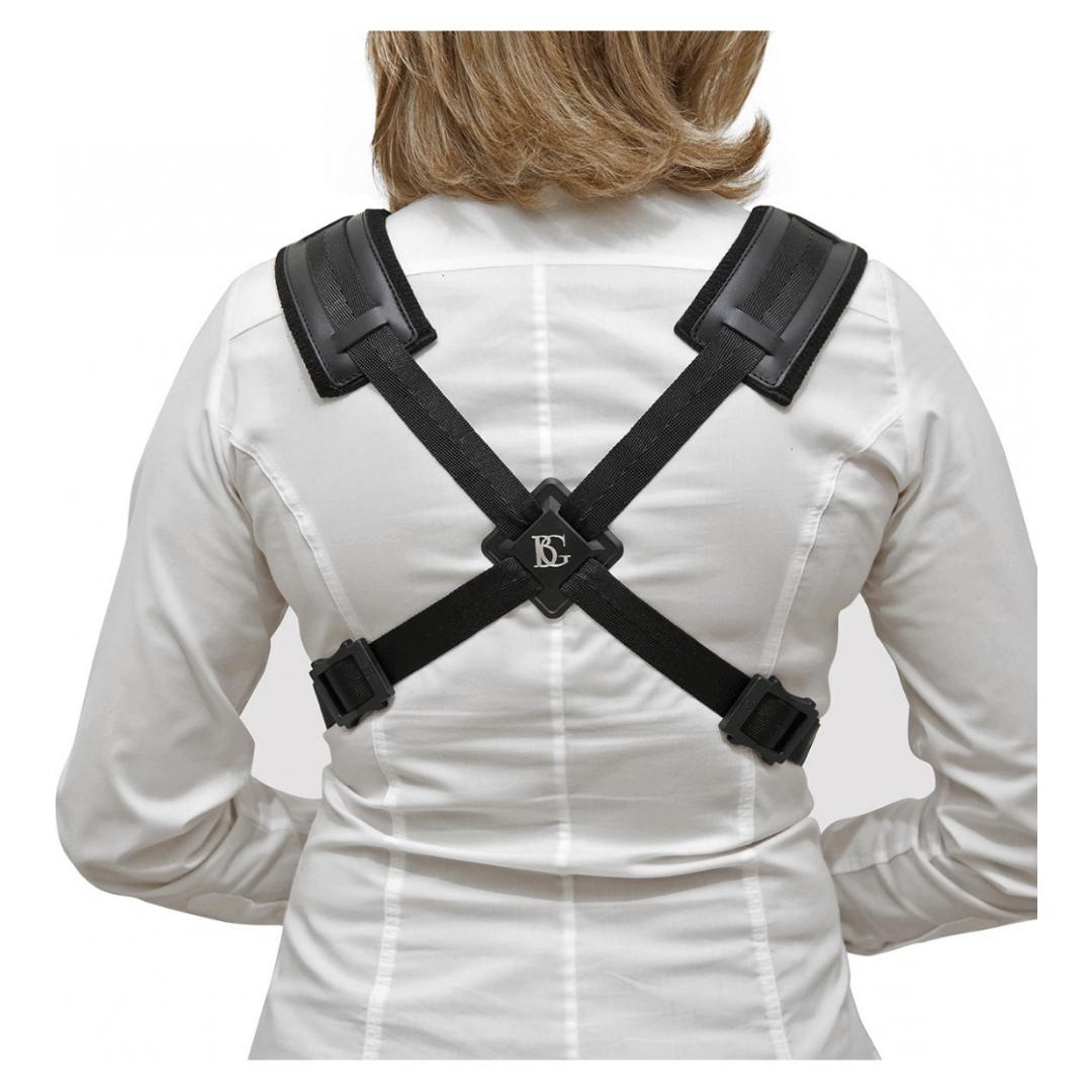 Correia para mulheres - Sax alto e Tenor BG S41CSH - STRAPS Comfort Harness Women