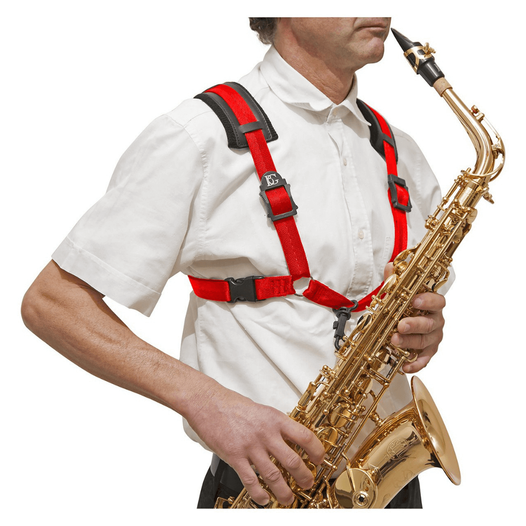Correia para Sax Alto e Tenor BG S439CSH - STRAPS Comfort Harness XL Men