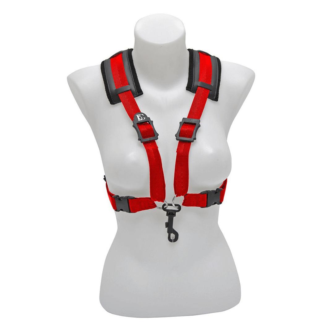 Correia XL para mulheres - Sax alto e Tenor BG S449CSH - STRAPS Comfort Harness XL Women