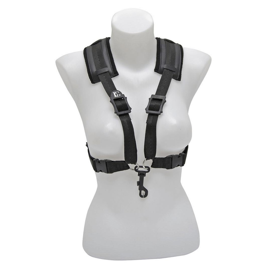 Correia XL para mulheres - Sax alto e Tenor BG S44CSH - STRAPS Comfort Harness XL Women