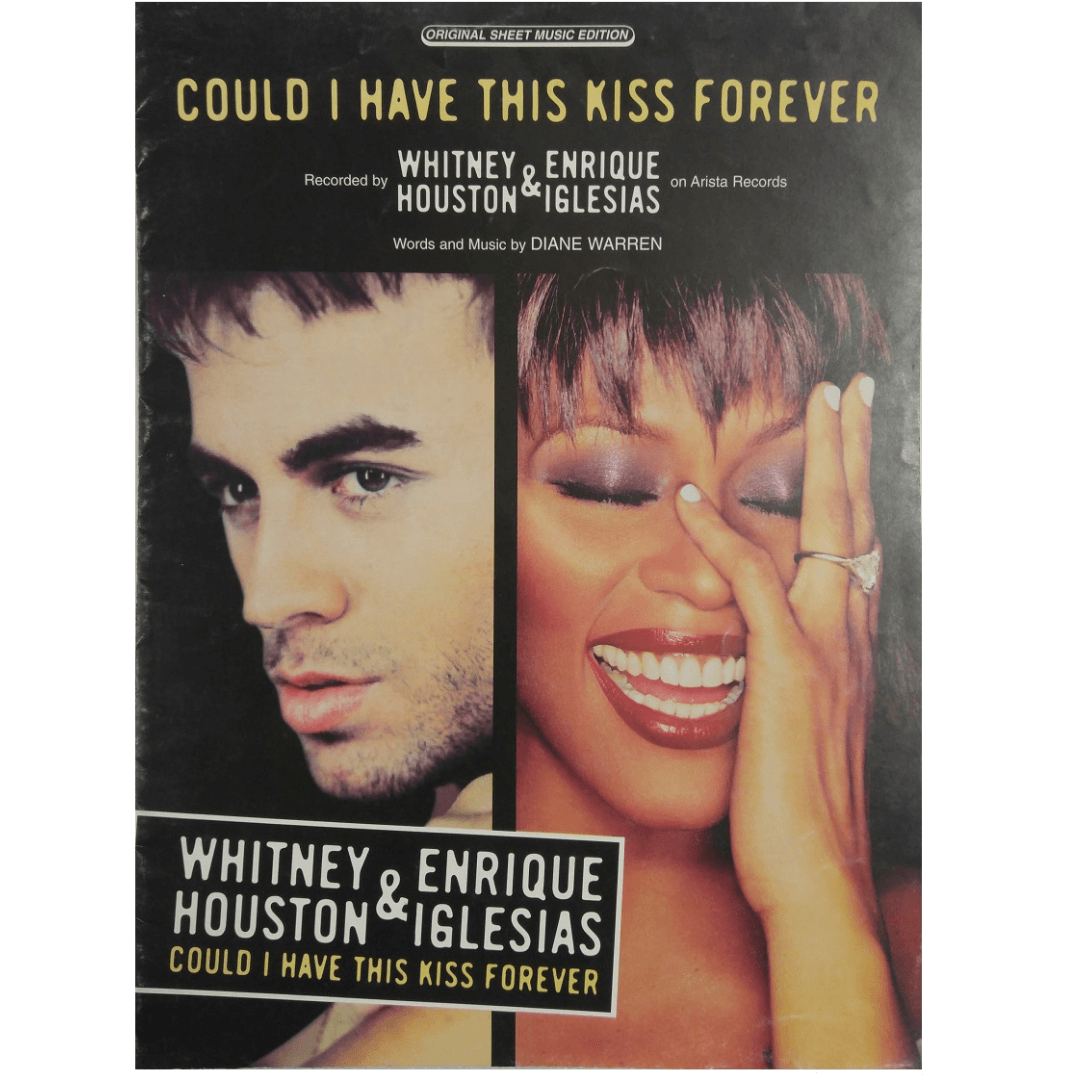 Could I Have This Kiss Forever Recorded by Whitney Houston & Enrique Iglesias - PVM00077