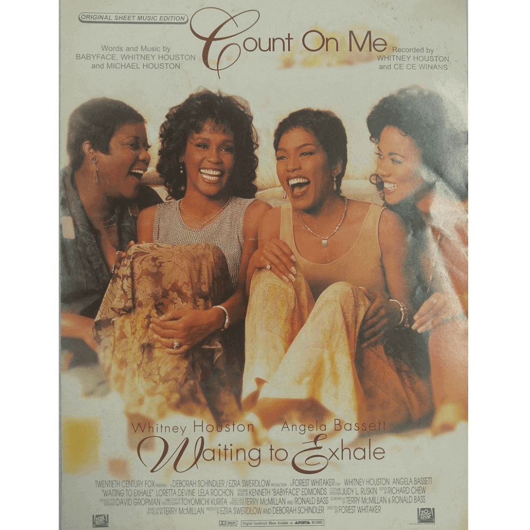 Count On Me - Recorded by Whitney Houston and Ce Ce Winans PV9665