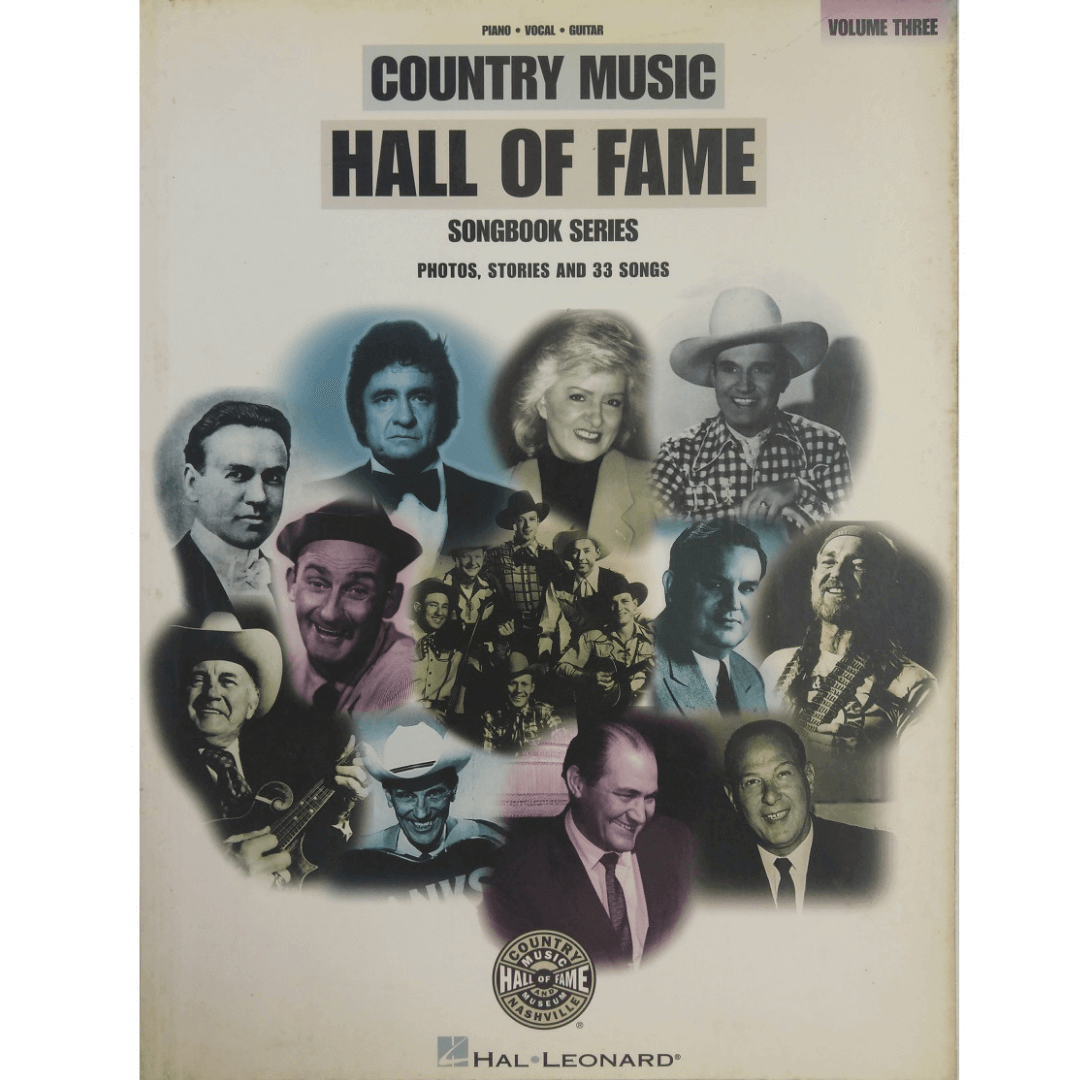 Country Music Hall of Fame Volume Three - Piano, Vocal e Guitar HL00313060