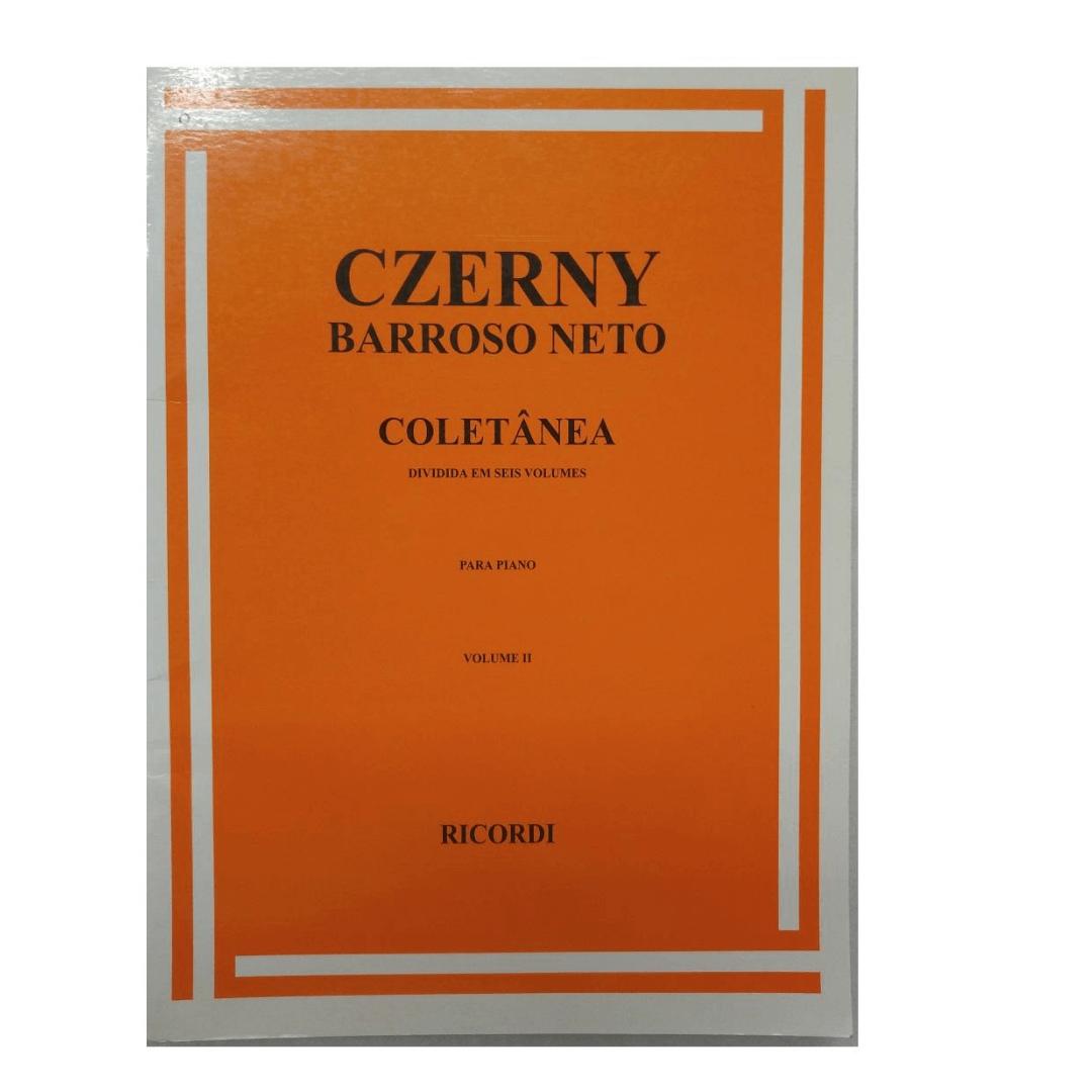 CZERNY - Coletânea para Piano - Barrozo Neto - Volume 2 - RB0032