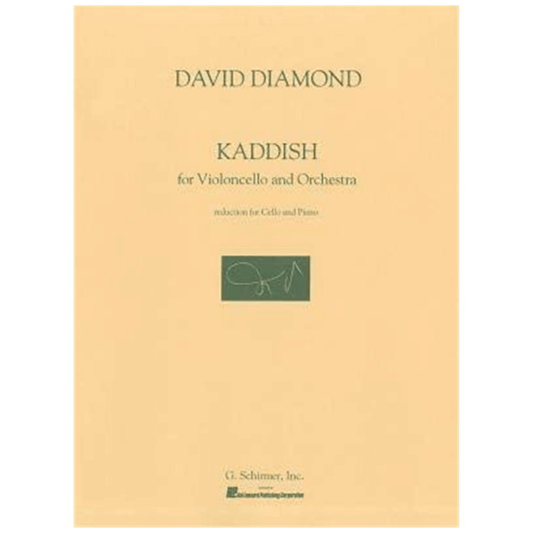 DAVID DIAMOND KADDISH para Violoncelo e Orquestra - G.Schirmer, Inc.