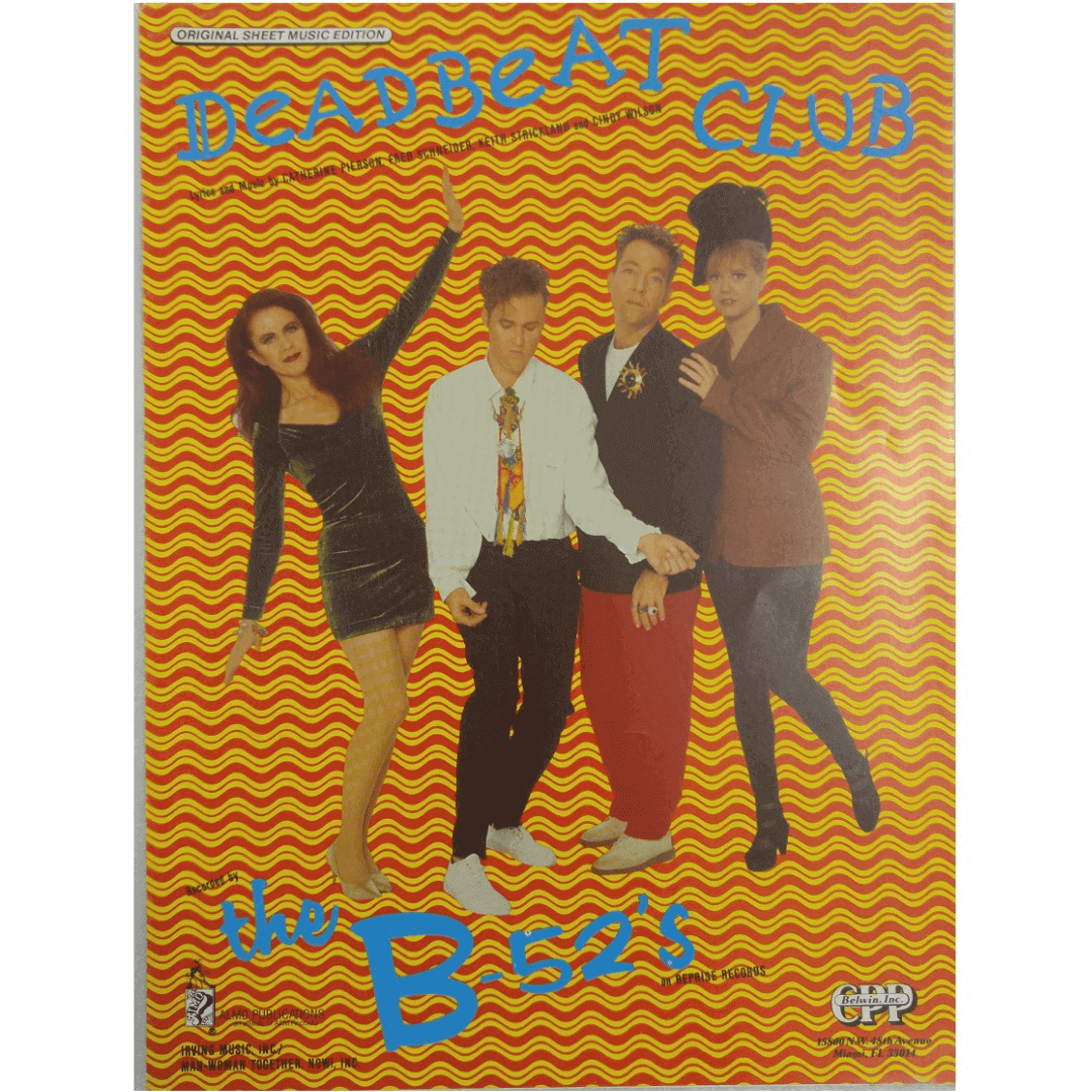 Dead Beat Club - The B-52'S on Reprise Records 1522DSMX