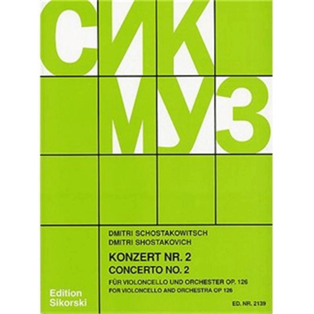 Dmitri Shostakovich: Cello Concerto No.2 Op.126 (Cello/Piano)