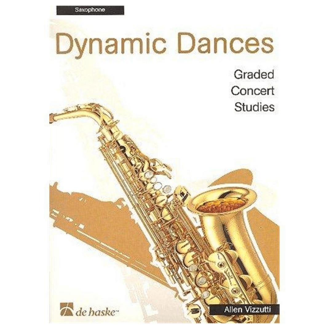 Dynamic Dances: Graded Concert Studies para saxofone - Allen Vizzutti - 1002074