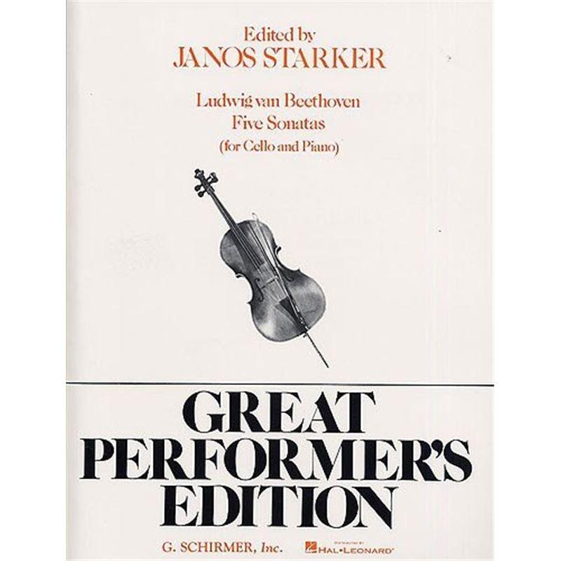 Edited by Janos Starker Ludwig van Beethoven as variações completas para violoncelo e piano
