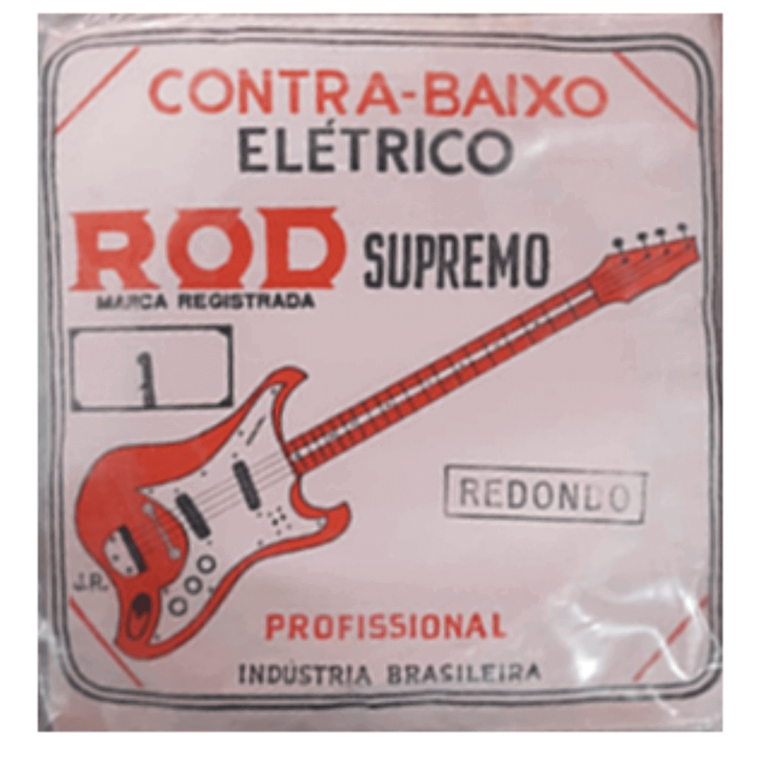 Encordoamento Contrabaixo Elétrico 4 Cordas - ROD Supremo